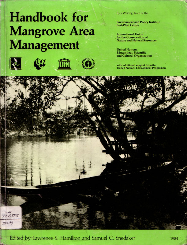 Handbook for Mangrove Area Management